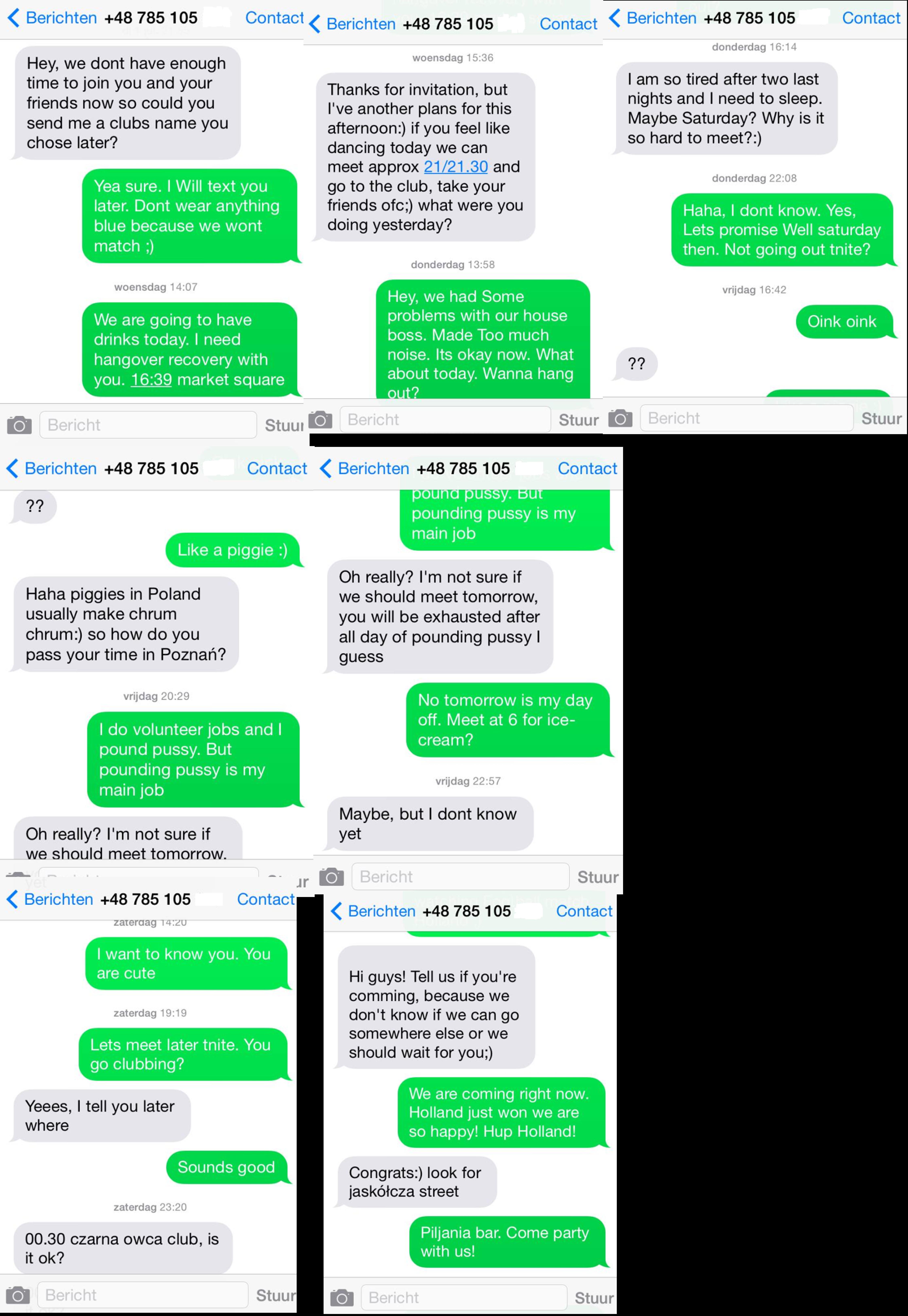 smsen een meisje je dating